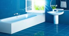 Blue Bathroom Tiles Shower Blue Bathroom Tiles Best Of Blue Bathroom Tile Or Bathroom Tile Designs Bathroom Tile Trim Blue Blue Bathroom Tiles Thebigadventureco Blue Bathroom Tiles Inspirational Examples Of Blue And White Blue Bathrooms Designs, Bathroom Tile Designs, Bathroom Floor Tiles, Tile Floor, Tile Grout, Floor Art, Epoxy Floor, Bathroom Mirrors, Kitchen Floor