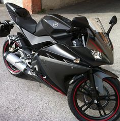 Yamaha YZF R125 - My bike