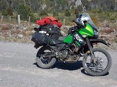 Beautiful Kawasaki KLR 650 Trail Motorcycle, Enduro Motorcycle, Motorcycle Adventure, Klr 650, Off Road Bikes, Adventure Tours, Kawasaki Motorcycles, Dual Sport, Cars