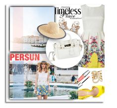 """""""Goodbye Summer...Persun"""" by melissa-de-souza ❤ liked on Polyvore featuring ALDO, Lancôme, J.Crew and persunmall"""