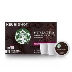 Starbucks Sumatra KCup for Keurig Brewers 60 Count * For more information, visit image link. (Note:Amazon affiliate link)