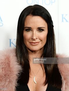 Television personality <a gi-track='captionPersonalityLinkClicked' href=/galleries/search?phrase=Kyle+Richards&family=editorial&specificpeople=2586434 ng-click='$event.stopPropagation()'>Kyle Richards</a> arrives at the WE tv celebration of the premiere of 'Kendra On Top' and 'Driven To Love' at Estrella Sunset on March 31, 2016 in West Hollywood, California.