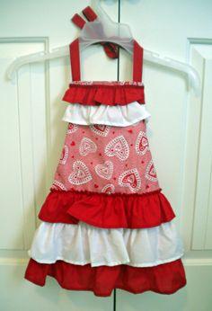 ruffled aprons | Ruffled Children's Apron SetValentines Day by ReenieJaeCreations, $12 ...