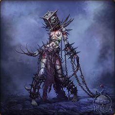 Gwyndilin trapped within Aldrich Monster Concept Art, Fantasy Monster, Monster Art, Dark Creatures, Fantasy Creatures, Creature Concept Art, Creature Design, Arte Horror, Horror Art
