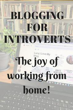 Blogging for Introve