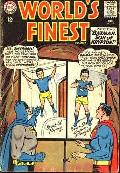 World's Finest Comics #146, December 1964, cover by Curt Swan and George Klein,