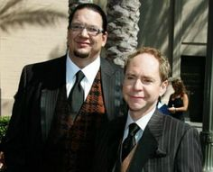 2013 Walk of Fame honors magicians Penn & Teller.