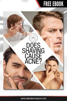 Does shaving cause acne? Are you looking for tips on how you can minimize the incidence of an acne breakout after shaving? Get the answers when you download our FREE ebook on our website. #nakedarmor #wetshave #shaving #straightrazor #acneproneskin Straight Razor Shaving, Shaving Razor, Wet Shaving, Shaving Cream, Free Translation, Shaving Tips, Acne Breakout, Close Shave, Acne Free