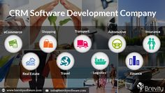 CRM Software Development Company : Brevity Software is best CRM software company in India provide CRM solutions for eCommerce, Real Estate, Shopping, Travel, Transport and Logistics, Automotive, Finance and Insurance, Banking and many more industries which helps to enhance sales performance.