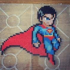 Superman perler beads by  jawsan