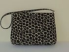 #goldearrings - Kate Spade Purse Handbag Giraffe Print Fabric Approx 11W x 8.5H x 2.5D - http://pinfollow.me/categories/womens-fashion/designer-handbags-purses/kate-spade-purse-handbag-giraffe-print-fabric-approx-11w-x-8-5h-x-2-5d/