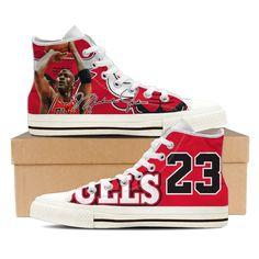 Michael Jordan Ladies High Top