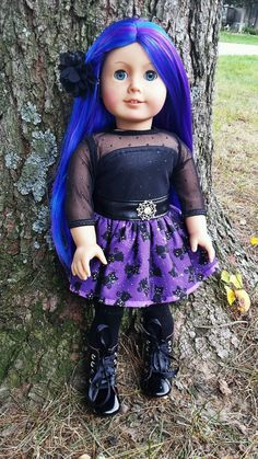 "Ooak Custom American Girl Doll ""Eve"" *Halloween Holiday Special* by DreamDollDesignz on Etsy"