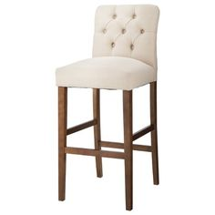 "$100 Brookline Tufted 30"" Barstool -Threshold™ - Sandstone"