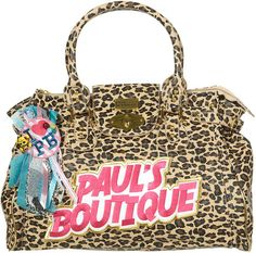 Finding the new design of pauls boutique bags!  http://www.paulsboutiquebags.org.uk/cheap-pauls-boutique-brown-leopard-molly-bags-p-30.html