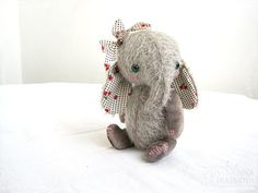 Gift Idea- Adorable handmade elephant 'teddy'
