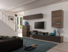 Amsterdam Combination-11341 Modern Wall Unit by Creative Furniture