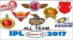 The season 10 of Vivo presents IPL Twenty20 has begun from 5th April with 8 teams playing that would continue till 21st May 2017.