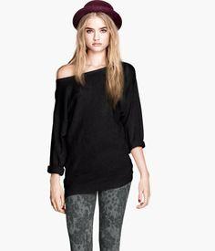 Basic Sweater by HM Black