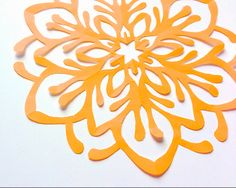 The Kirigami Project - Week Four - Fireworks