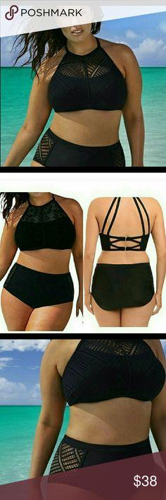Plus size sexy bikini New still in packag every cute  black sexy bikini size 2 x Swim Bikinis