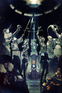 Fate/Zero Won't ever finish seeing this, but it is good nonetheless