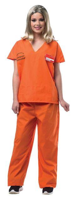 Orange is the New Black Orange Prisoner Jump Suit from BuyCostumes.com