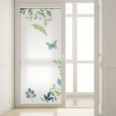 vinilos-para-cristales-cris-49 Frosted Glass Design, Frosted Glass Door, Glass Doors, Etched Glass Door, Leaded Glass, Glass Etching, Frosted Window Film, Modern Tv Wall Units, Wardrobe Door Designs