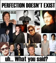 Norman Reedus IS perfection!