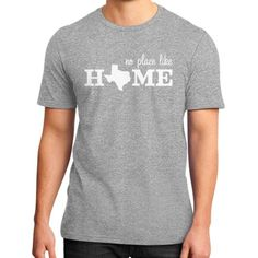 No Place Like Home District T-Shirt (on man)