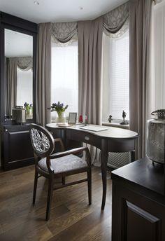 Квартира в стиле современная классика с элементами ар-деко для двоих