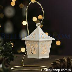 Belleek Living Tree Hanging Lantern - Christmas Decorations