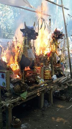 cremation ceremony in Bali