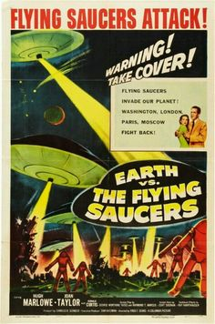 1/24/15  9:00p    Columbia Pictures ''Earth vs The Flying Saucers''  Ray Harryhausen  1953