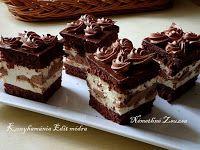 Fincsi receptek: Krémes sütik Cake Cookies, Cupcakes, My Recipes, Cooking Recipes, Cold Desserts, Hungarian Recipes, Chocolate, Diy Food, Tiramisu