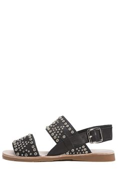 Jeffrey Campbell Shoes PATRAS STUD MUFFIN in Black Silver