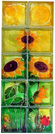 Sunflowers 2x5