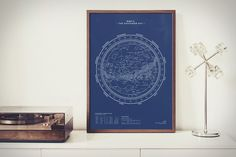 Stellavie Stellar Map Prints