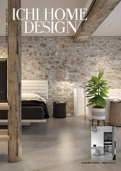 Urban Industrial Decor Tips From The Pros Have you been thinking about making changes to your home? Stone Interior, Home Interior Design, Interior Architecture, Loft Design, House Design, Stone Accent Walls, Faux Stone Walls, Barn Renovation, Urban Loft