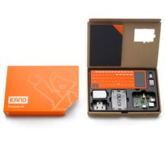 Kano computer kit by MAP : Build your own raspberry pi powered mini computer and learn to program! Support this Kickstarter