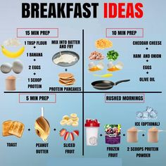 Will Skipping Breakfast Make You Lose Fat Faster Breakfast Ideas for Everyone! Some mornings are rushed while others you have the time to sit down and have a nice meal. Healthy Meal Prep, Healthy Life, Healthy Recipes, Stay Healthy, Healthy Choices, Healthy Workout Meals, Being Healthy, Grocery List Healthy, Healthy Eating Schedule