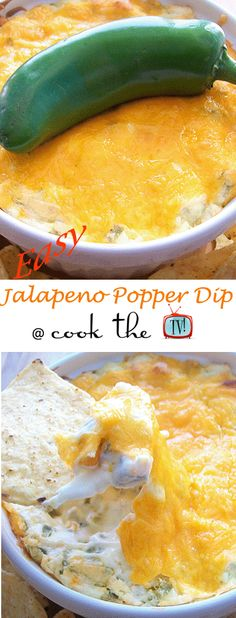 Easy Jalapeno Popper Dip