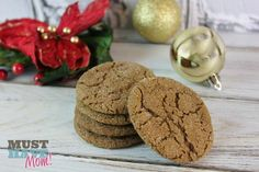 The Best Gingersnap Cookies Recipe! - Must Have Mom