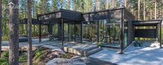 Villa Black, modern wooden architecture from Finland | Honkatalot