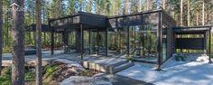 Villa Black, modern wooden architecture from Finland   Honkatalot
