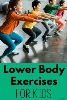 Lower body strengthening exercises for kids. See examples and videos of how to modify traditional exercises that your kids will … Ankle Strengthening Exercises, Physical Therapy Exercises, Pediatric Physical Therapy, Physical Education Games, Physical Activities, Health Education, Dementia Activities, Body Exercises, Pediatric Ot