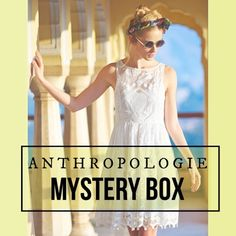 "ANTHROPOLOGIE 🍁FALL🍂 Mystery Box Do you love everything Anthropologie? Then YOU NEED THIS! I will provide a ""mystery box"" which will contain 5 FALL items from Anthropologie! They will be in excellent used condition. They will be a random combination of tops, skirts, pants or dresses TELL ME YOUR SIZE below and I will make a separate listing.  NOTE: Returns for mystery packages are not supported by Poshmark. But if you don't love an item in the package, you can re-list it in your closet…"