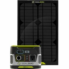 Costco: Goal Zero Yeti 150 Solar Generator Kit with Boulder 15 Solar Panel