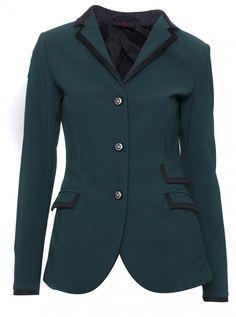 Cavalleria Toscana Eleganza competition jacket in green