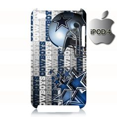 Dallas Cowboys Helmet iPod 4 4g 4th Touch Case Cover
